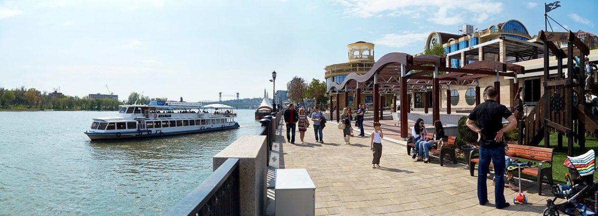 Le Don attire de nombreux touristes à Rostov