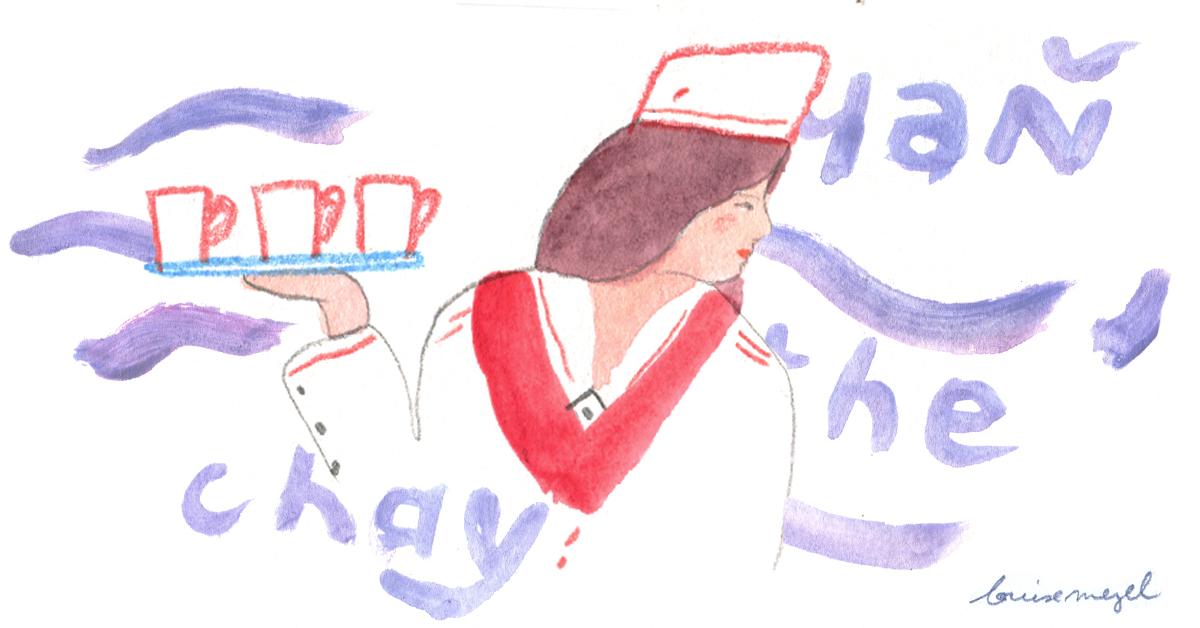 Le rituel du thé dans le Transsibérien