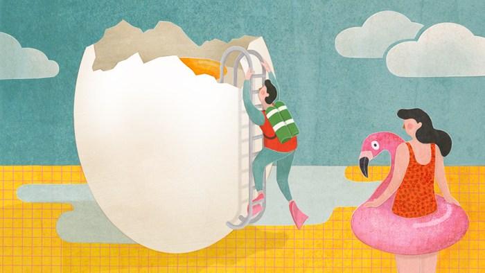 Procurar pelo em ovo