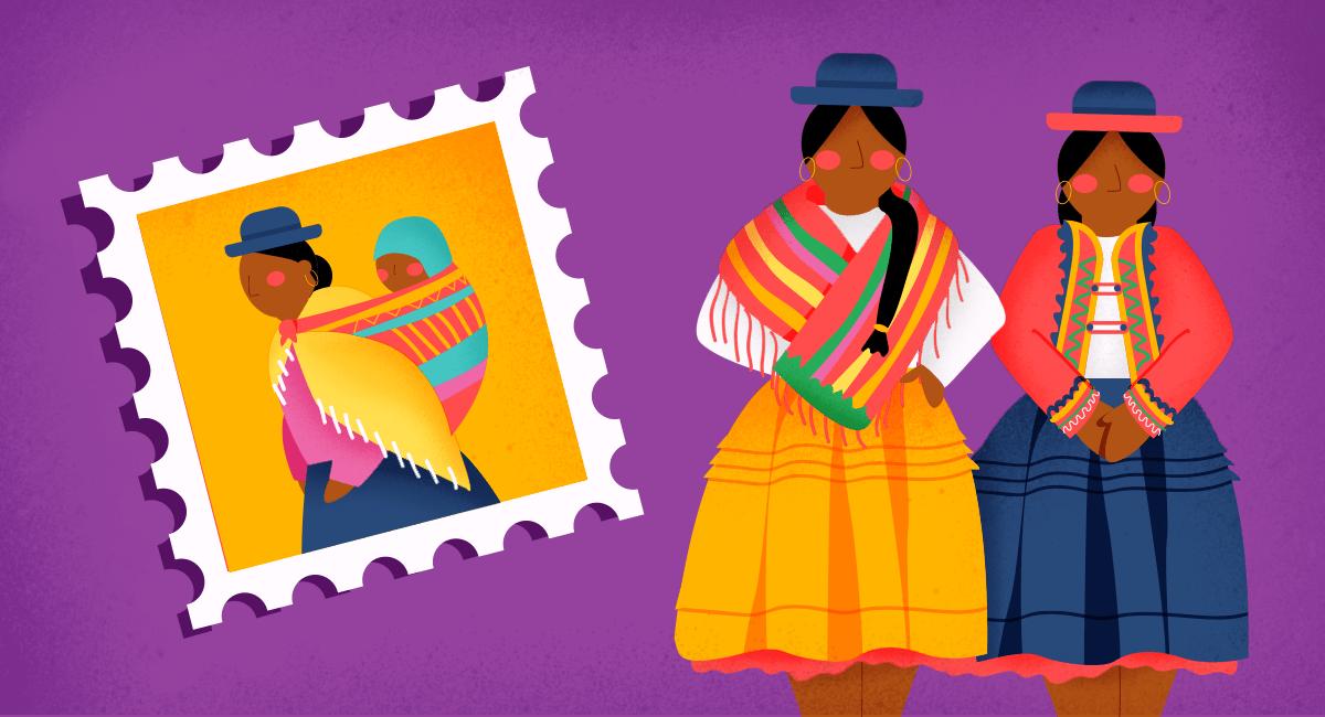 Las cholitas bolivianas