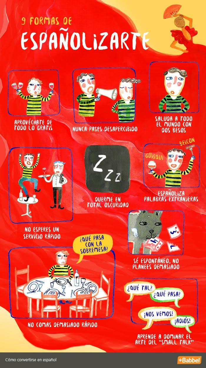9 pasos para españolizarte