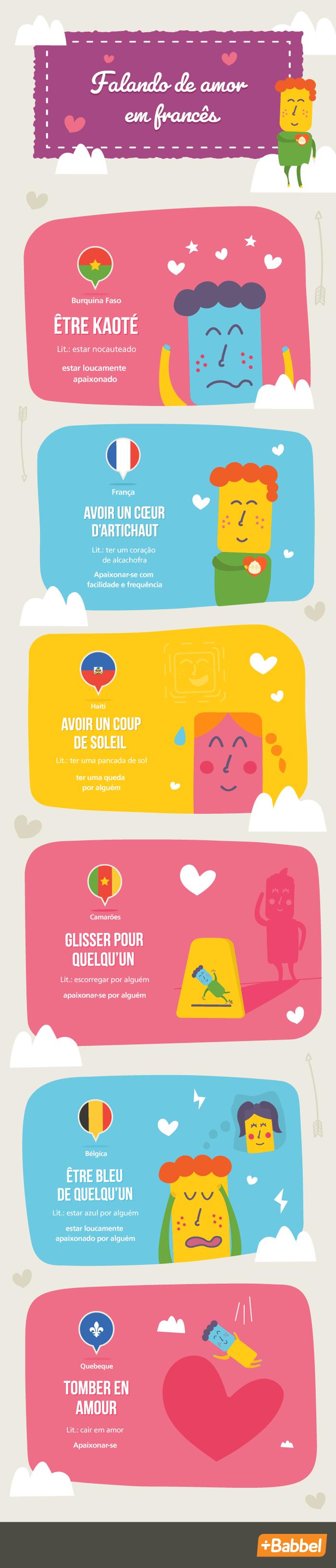Expressões francesas sobre o amor