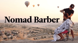 Comment le Nomad Barber a parcouru 21 pays en une année