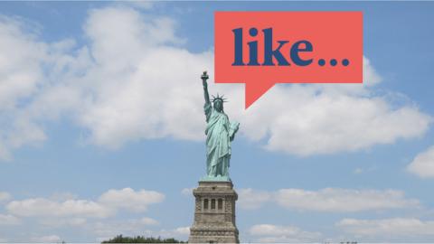 Expresiones en inglés americano que son, like, súper awesome