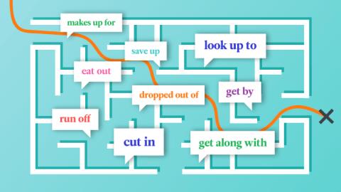"""Was sind die sogenannten """"Phrasal Verbs"""" im Englischen? Eine kleine Hilfestellung für englische Verben mit adverbialen Partikeln"""