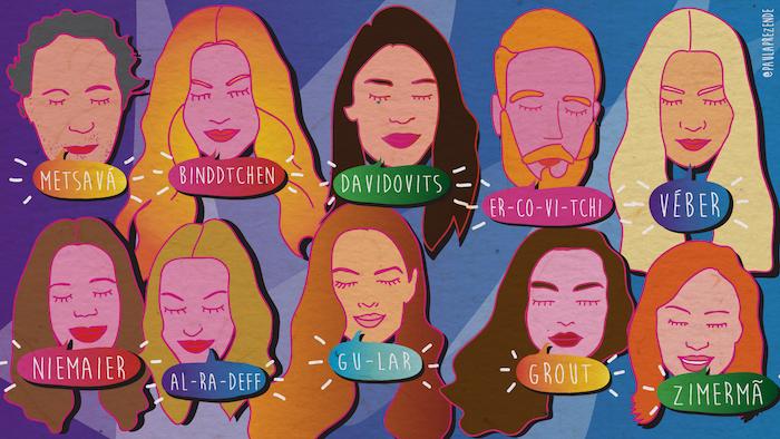 Como falar os 10 nomes mais difíceis da moda brasileira?