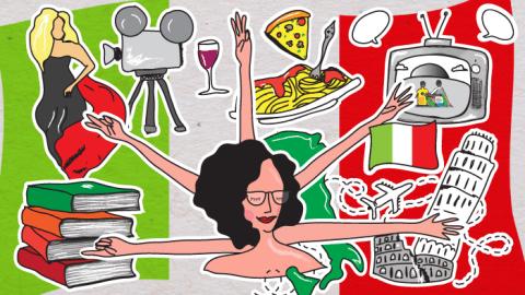 Os 5 melhores motivos para aprender italiano