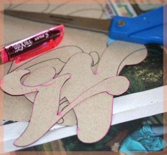 cut paper templates