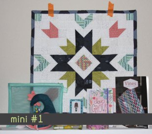 Garden Star Mini quilt