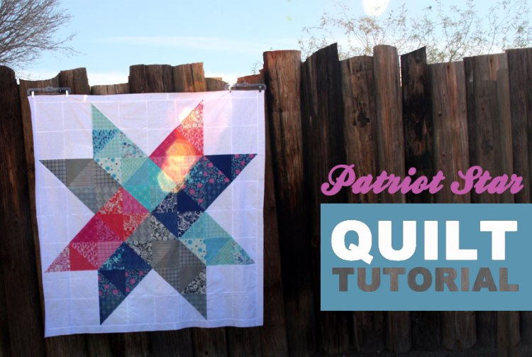 Patriot Star quilt tutorial