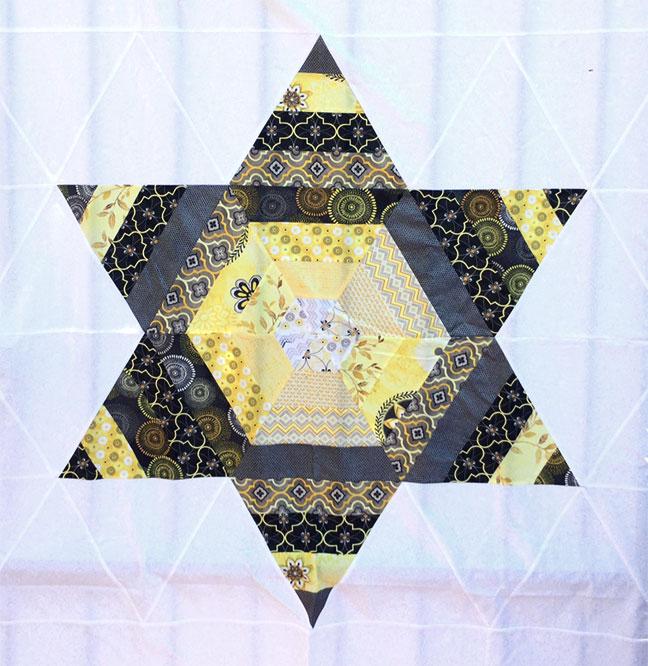 Scrappy Triangle Star