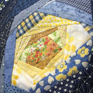 Charity Sewing Bee bloom block