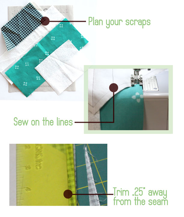 how to paper piece
