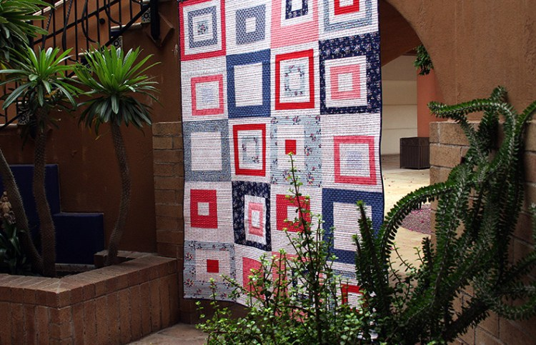 Mod City Center Quilt