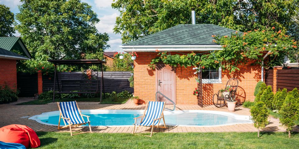 ground pool is best for a small yard