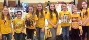 Elementary school students participate in STEM challenge