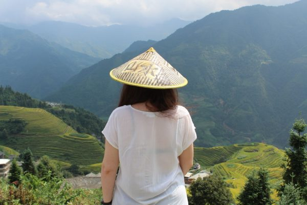 china, long, rice terraces, Chinese, countryside
