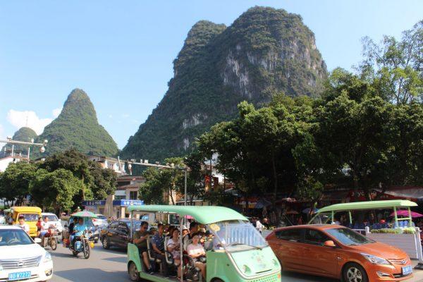 china, long, rice terraces, Chinese, countryside, yangshou