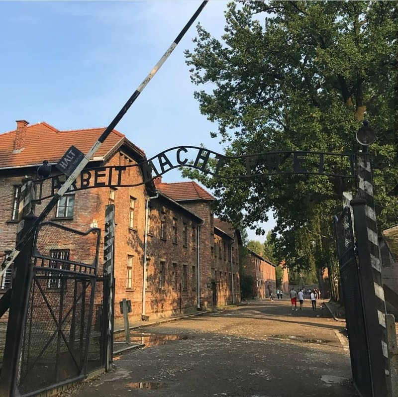 Poland, krakow, auschwitz, worker's gate, concentration camp, WW2, Poland