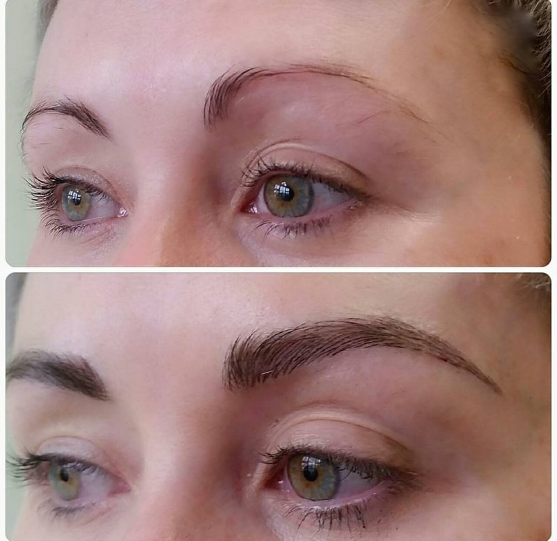 phi brows, microblading, before and after phi brows, semipermanent makeup, brow goals