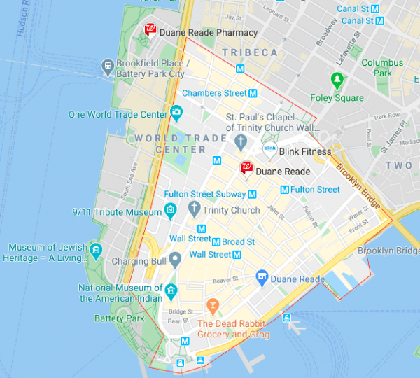 FIDI Google Map