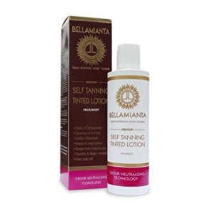Bellamianta Medium Self Tanning Tinted Lotion