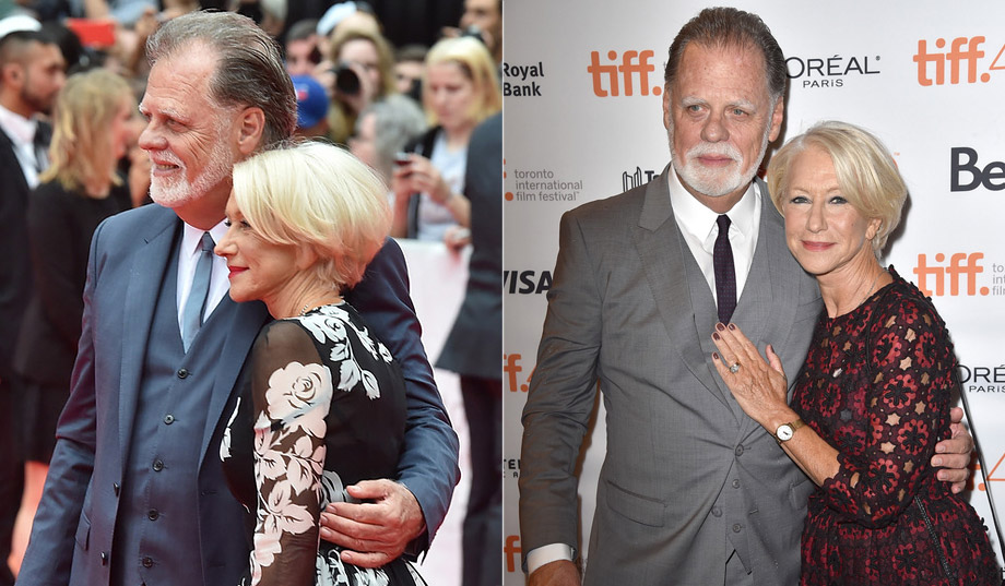 Helen Mirren with husband Taylor Hackford