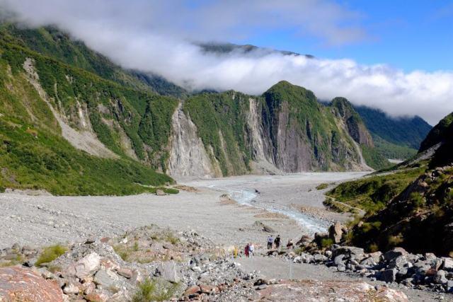 la vallée du fox glacier