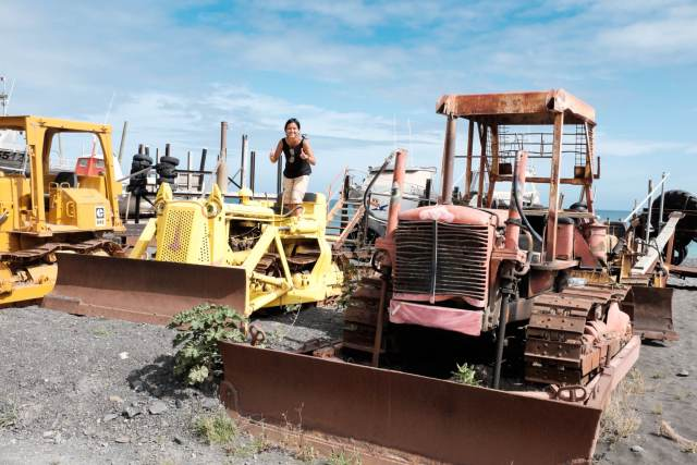 Ngawi et ses tracteurs