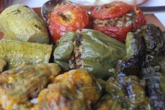 Stuffed Greek peppers photo