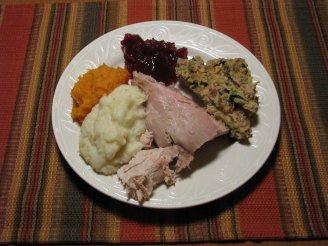 Thanksgiving plate photo
