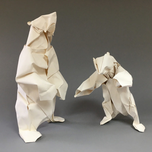 Bernie Peyton - Standing Polar Bears