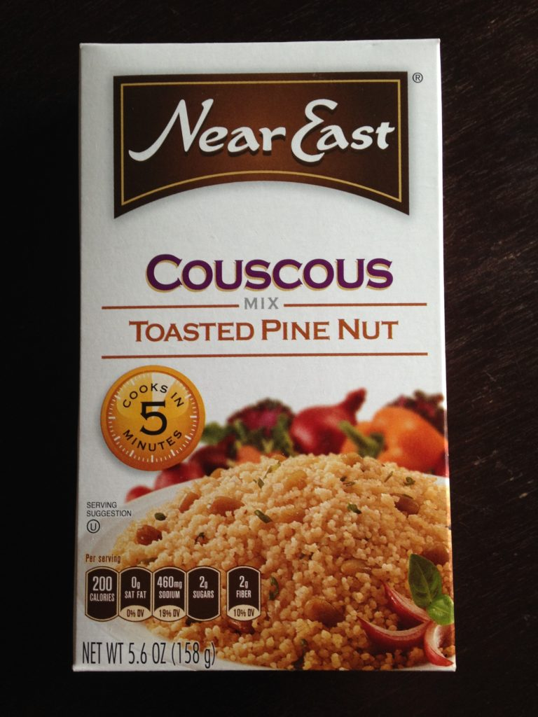 Near East Couscous. A great outdoor meal that's easy to divide into 2 portions.