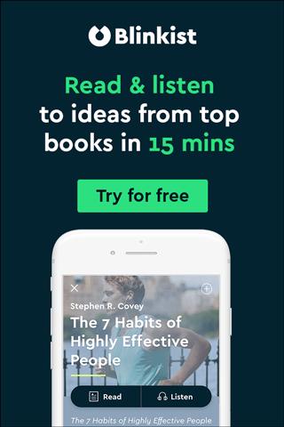 Blinkist - Jedes Buch nur 15 Minuten