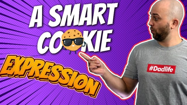 pete smissen, host of aussie english, talks about english expressions, smart cookie meaning, what is smart cookie, how to use smart cookie in a sentence