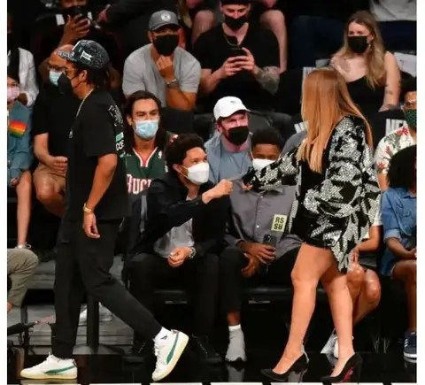 Pictures: Trevor Noah and Beyoncé priceless moment got Mzansi talking