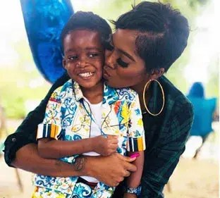 Tiwa Savage ready for another child? - Vanguard News
