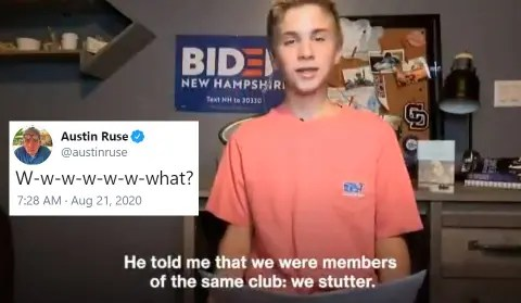 """Anti-LGBT Author Of """"The Catholic Case For Trump"""" Mocks Stuttering After  Biden Helps Teen With Stutter"""