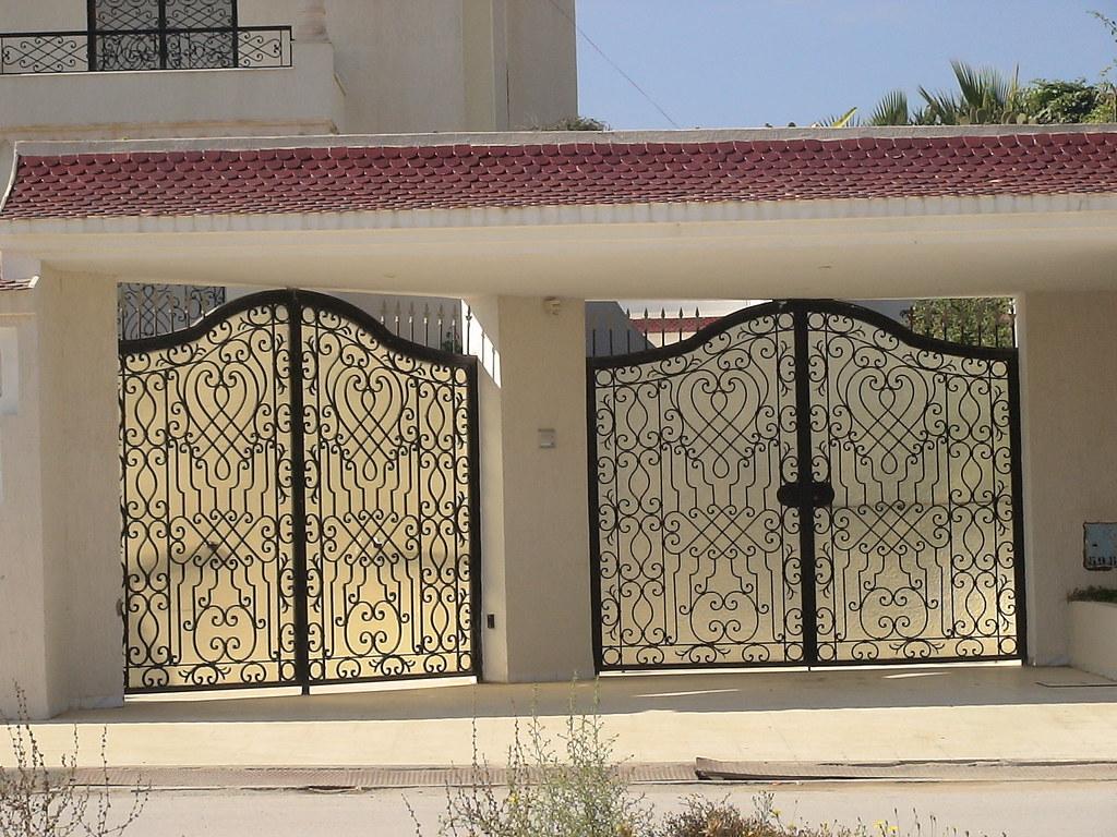 Porte Garage Tunisie Fer Forge Deportedd