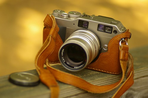 Contax G1 w Zeiss 90mm lens | Taken with Pentax f/1.4 50mm p… | Flickr