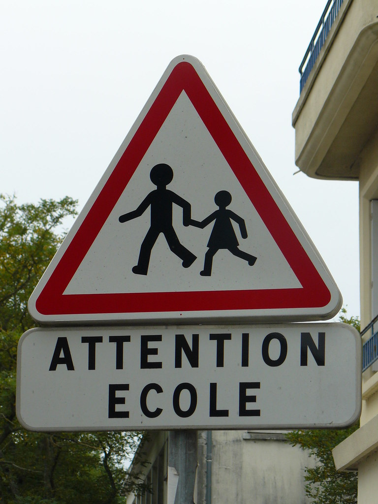 Signal 233 Tique Panneau Quot Attention 233 Cole Quot Signal 233 Tique