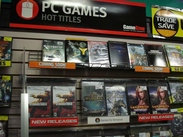 GameStop PC Games Hot Titles