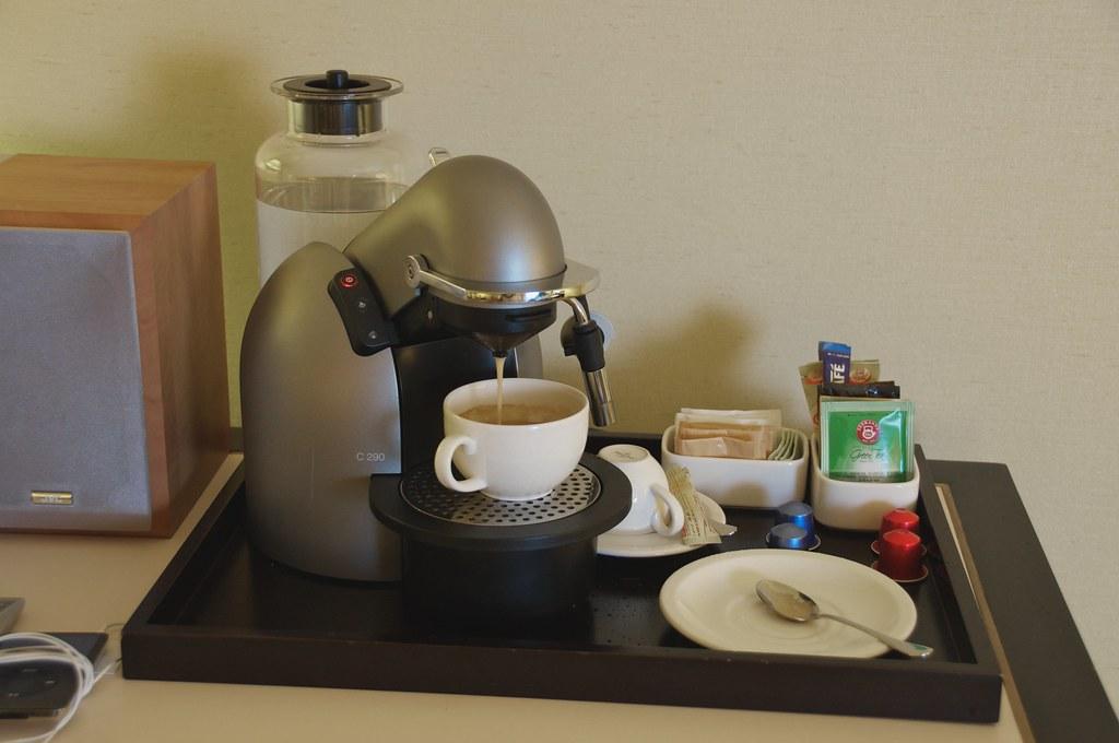 Nespresspo Coffee Machine My Pleasant Room In My Hotel