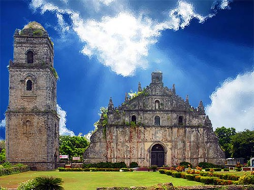 Paoay Church Hd Photos And Wallpaper Directory