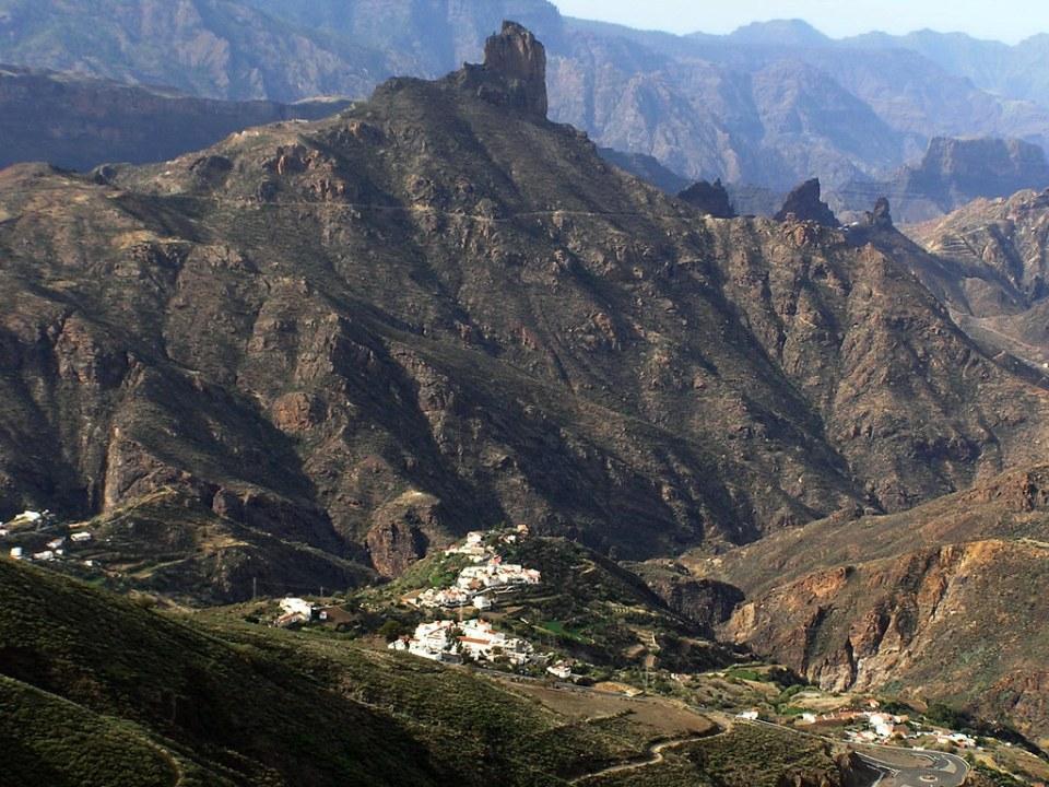 Roque Bentaiga y Tejeda Gran Canaria