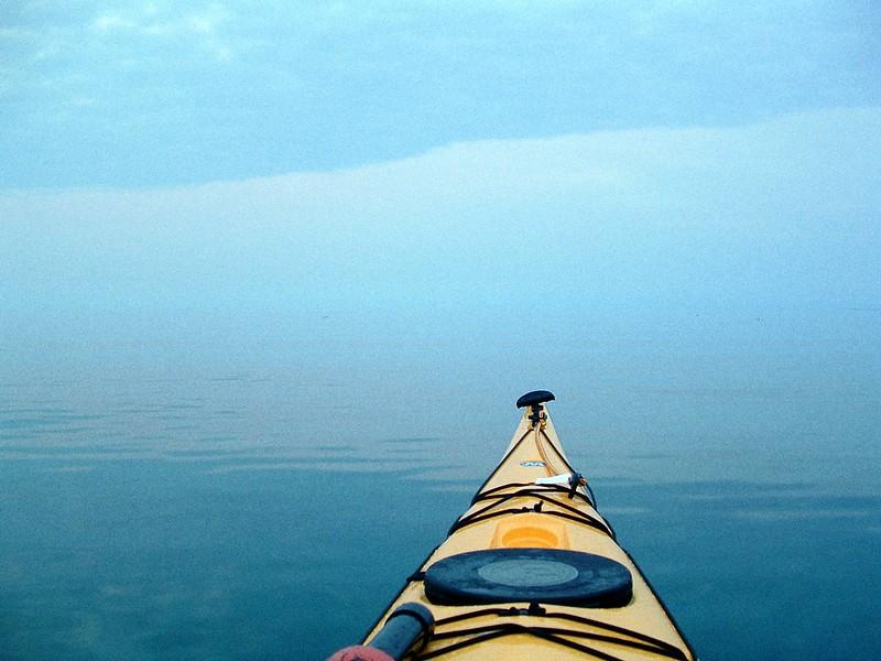 Kayaking Bruce Peninsula, Ontario
