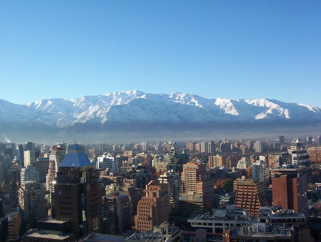 Santiago, Chile in Winter