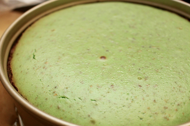 Pistachio White Choco Cheesecake - 19