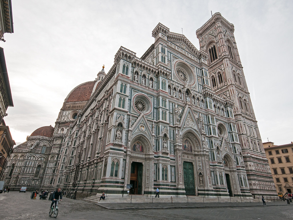 Florence Cathedral Exterior Cattedrale Di Santa Maria