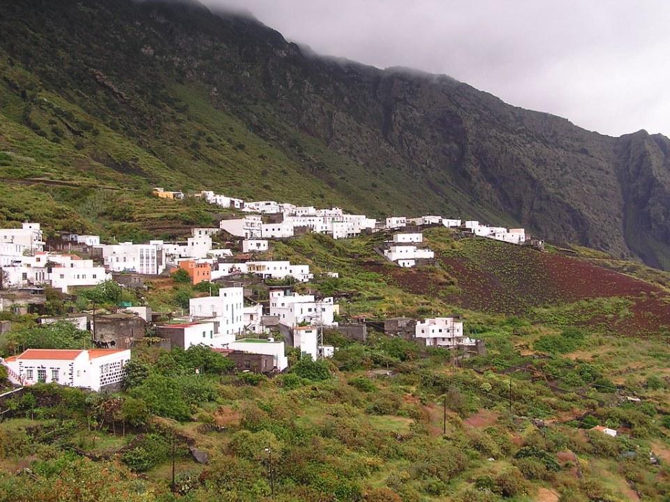 Sabinosa pueblo Isla de El Hierro Islas Canarias